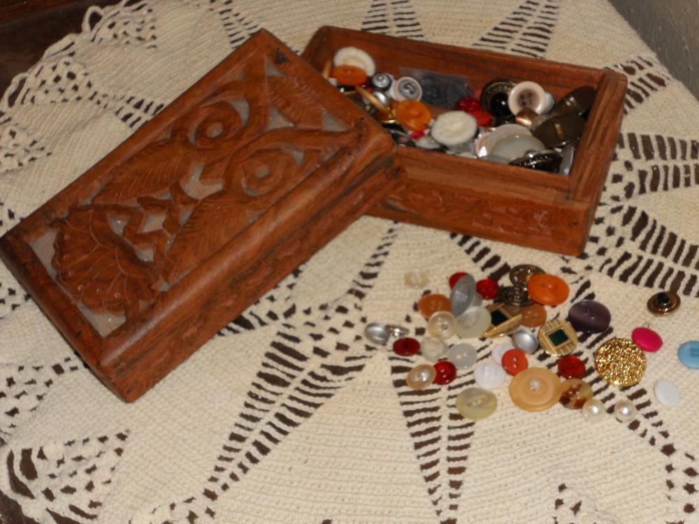 Grandma's  Button Box