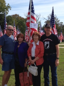 At Veteran's Park, Veteran's Day 2013