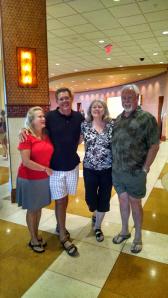 Marilyn & Barry Patterson and Leslie & Steve Krumtinger