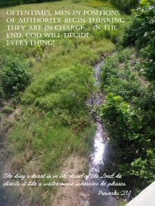 God decides