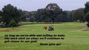 Golf - You're gettin closer
