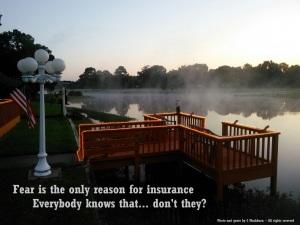 Fear - insurance