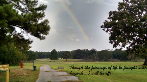 Rainbow - number 10 tee box