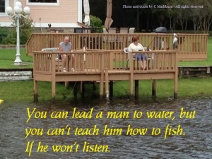 teach to fish