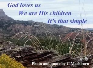 God loves us (3)