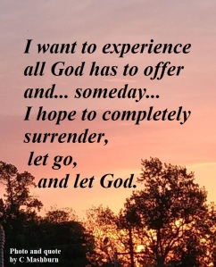 and let God