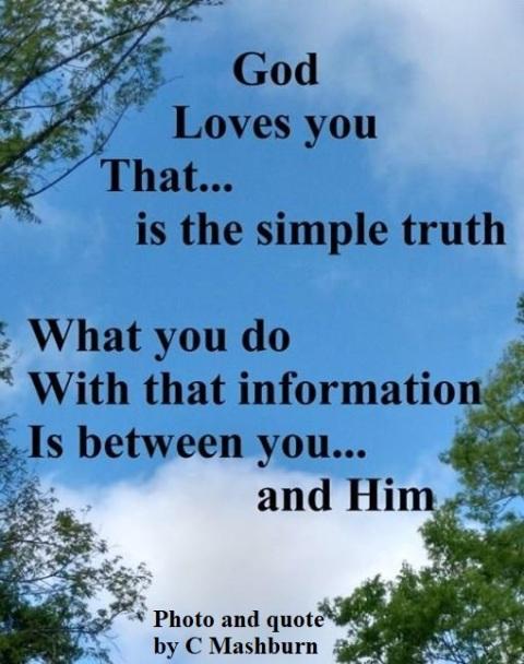 God loves you (3)