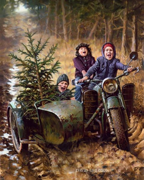 Joy Ride by David Uhl