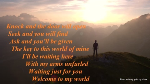 sunrise over peaks quote 2