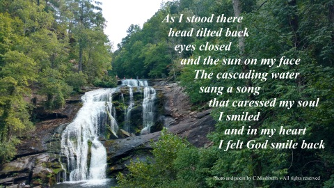 God smiled back quote