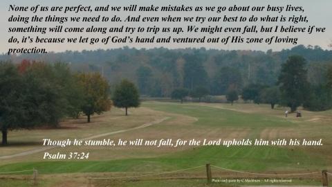 Though we stumble