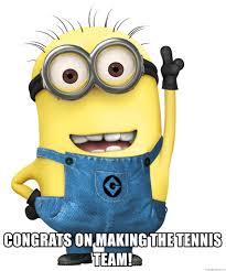 minion tennis