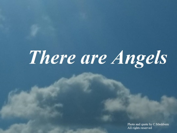 Mom's cloud - Angels poem