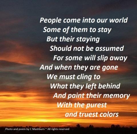 fiery sky (2) poem