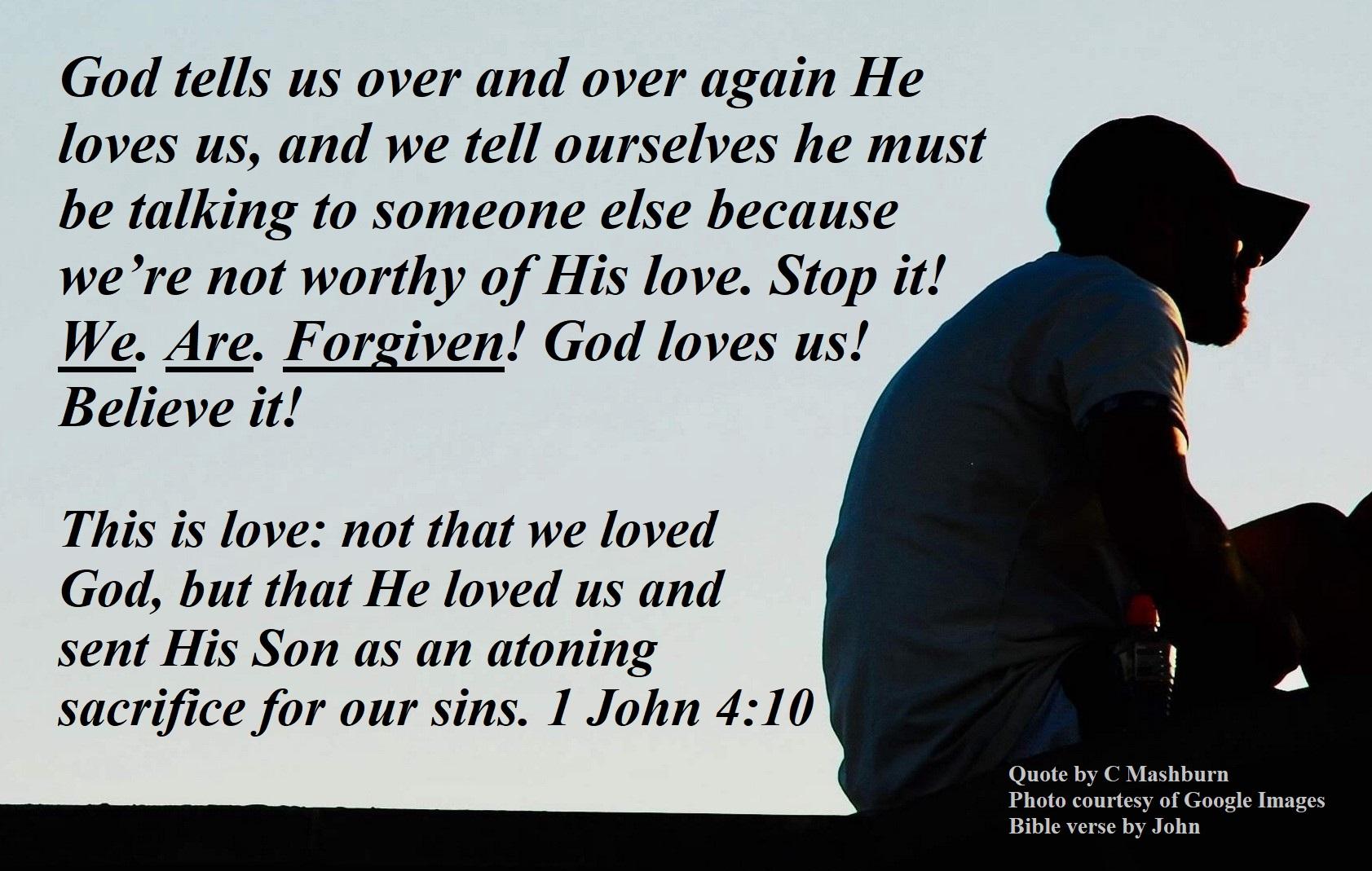a man - forgiven